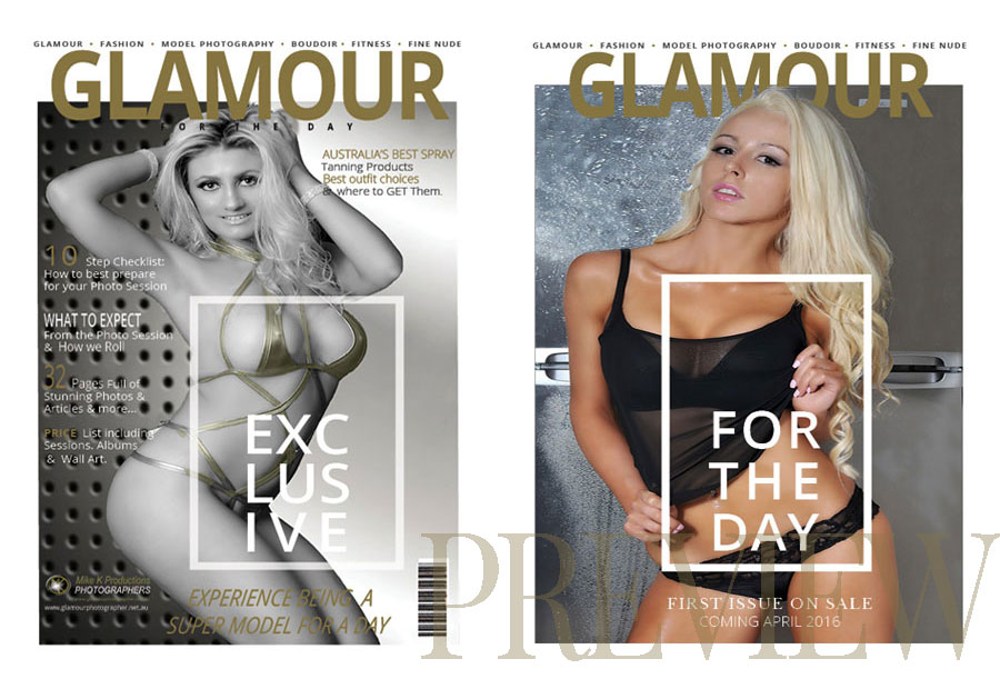 glamour photography shots